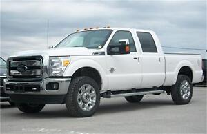 2015 Ford F-250 Diesel|Leather|Sunroof|Navi|Heated-Cooled Seats