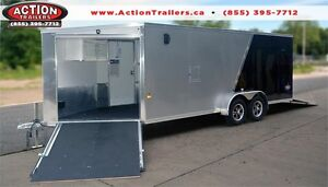 ENCLOSED SNOWMOBILE TRAILERS AT ROCK BOTTOM PRICES