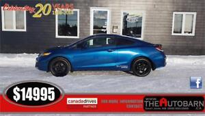2015 HONDA CIVIC EX COUPE - 5 SPD, CRUISE, BLUETOOTH,  REAR CAM
