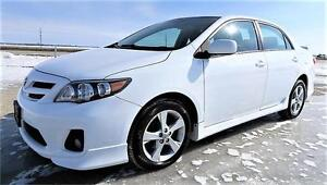 2013 Toyota Corolla Sport with Bluetooth