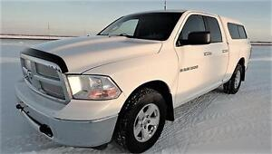 2012 Ram 1500 SLT Crew Cab with Matching Truck Shell