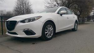 2014 MAZDA MAZDA3 GS *ONE OWNER, NAVIGATION, FACTORY WARRANTY*