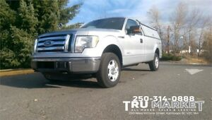 FORD F150 XLT 4X4 *ONE OWNER, LOCKING STORAGE/CANOPY*