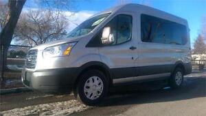 2016 FORD TRANSIT *8 PASSENGER, ONE OWNER, FACTORY WARRANTY*