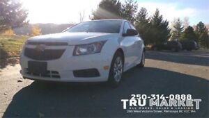 2014 CHEVROLET CRUZE *FACTORY WARRANTY, ONE OWNER*