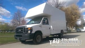 FORD E-350 CUBE VAN *ONE OWNER, STORAGE*