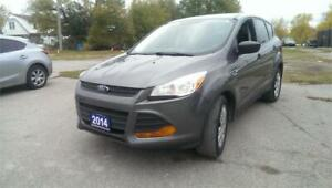 2014 Ford Escape S BACK UP CAM/HAND FREE BLUETOOTH PHONE