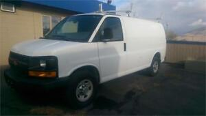 CHEVROLET EXPRESS CARGO *ONLY 63,992 KMS, STORAGE, BULKHEAD*
