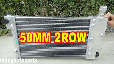 2ROW 50MM ALUMINUM ALLOY RADIATOR PEUGEOT 106 GTI&RALLYE//CITROEN SAXO/VTR 91-01