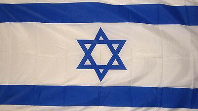 ISRAEL FLAG 5X3 Jewish Judaism Jerusalem Star of David