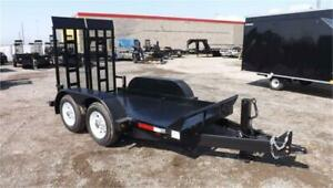 Ultra Low Deck Equipment Trailers - Great For Scissor Lifts!