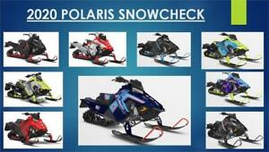 2020 POLARIS SNOWCHECK PROMOTION NOW ON AT BOURQUE'S