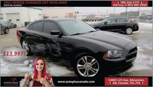 2012 Dodge Charger SXT Plus AWD low Monthly payments