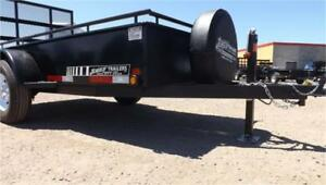 Commercial Grade Utility Trailer W/Heavy Duty Features