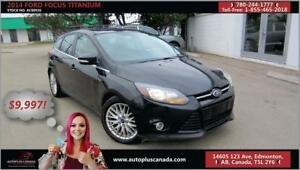 2014 Ford Focus Titanium low low monthly payments