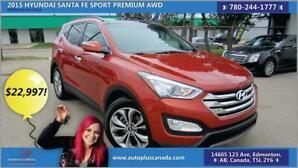 2015 Hyundai Santa Fe Sport Premium AWD LEATHER SUNROOF
