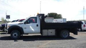 FORD F-550 XLT DOMPEUR 2012