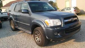 2006 Toyota Sequoia Limited~SAFTIED~CLEAN~GET FINANCING