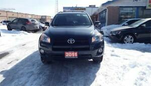 2011 TOYOTA RAV4 SPORT(4x4)/SUNROOF/CRUISE CONTROL/POWER LOCKS