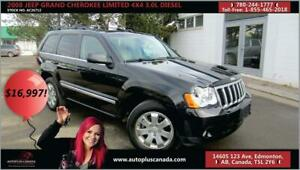2008 Jeep Grand Cherokee Limited DIESEL 3.0L 4x4