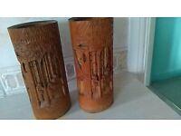 Chinese Bamboo brush pots