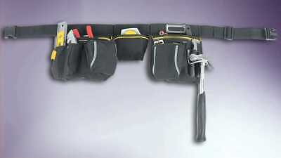 Work Tools Pouch Belt With Hammer Loops Carpenter Builder Plumber Electrician Uk