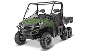 POLARIS RANGER 6X6 - SAGE GREEN 2017