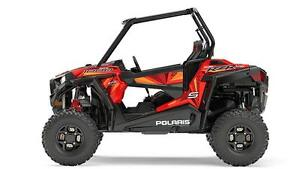 POLARIS RZR S 1000 EPS - ROUGE INDY 2017