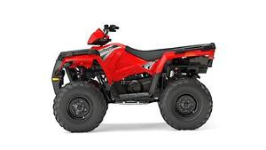 POLARIS SPORTSMAN 570 EPS ROUGE INDY 2017