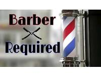 Barber wanted. Full & part time. Urgent!