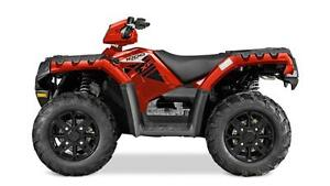 SPECIAL BUY-2016 POLARIS SPORTSMAN 1000 XP EPS RED w/ACCESSORIES