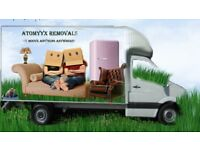 Removals services at competitive rates