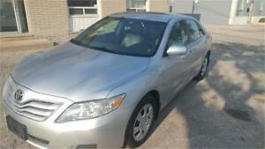 2011 Toyota Camry LE LOW 117000KM ACCIDENT FREE FINANCING AVAILA