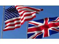 Englishman like to meet Americans