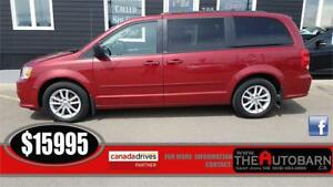 2014 DODGE GRAND CARAVAN SXT - DVD SYSTEM, POWER SLIDING DOORS