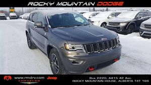 2017 Jeep Grand Cherokee Trailhawk 4x4 * GPS * Accident Response