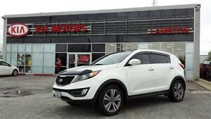 2014 Kia Sportage SX Luxury with NAVI Sunroofs and LEATHER