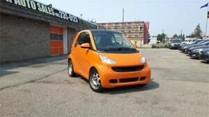 2012 smart fortwo Pure. 1yr. P.Train Wrnt included