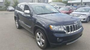 2011 Jeep Grand Cherokee Overland (With Warranty)