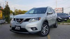 2014 Nissan Rogue SL Premium   Navi   Pano Roof   One Owner