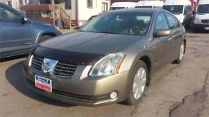 2004 Nissan Maxima SE, AUTO, LEATHER, S-ROOF