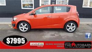2012 CHEVROLET SONIC LT HATCHBACK - CRUISE, BLUETOOTH
