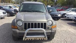 2007 JEEP LIBERTY AUTOMATIC 4X4 ETESTED SAFETY