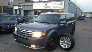 2010 Ford Flex SEL AWD LEATHER, P/MOON, 7 PASS. 2 SETS OF RIMS &