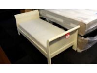 Ex-display mamas & papas childrens bed with foam mattress