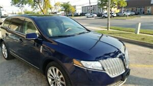 2011 Lincoln MKT DUEL DVD PANORAMIC ROOF TOP OF THE LINE FINANCI