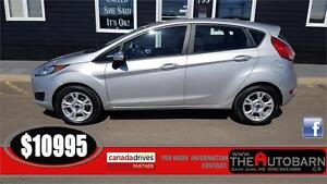 2015 FORD FIESTA HATCH - cruise, bluetooth, factory alloy wheels