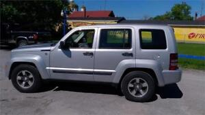 2008 Jeep Liberty Sport North Edition-4WD-Excellent Conditions.
