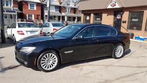2012 BMW 7 Series 750i xDrive one owner clean car proof