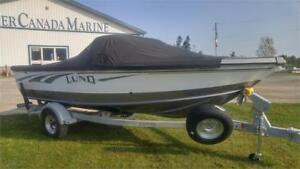 2018 1800 Tyee  with Merc 150 and trailer. Power Steering!